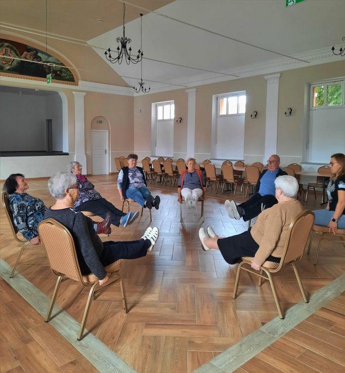 Spotkanie z psychoterapeutą w Klubie Seniora w Ruszowicach
